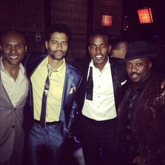 Kenny Lattimore, Eric Benet, James Luke and Anthony Hamilton at the Soul Train Music Awards 2012
