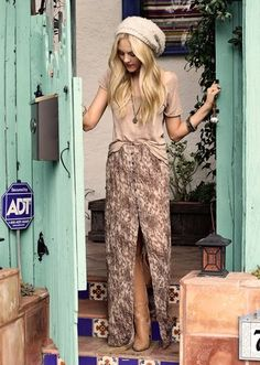 maxi skirt with boots
