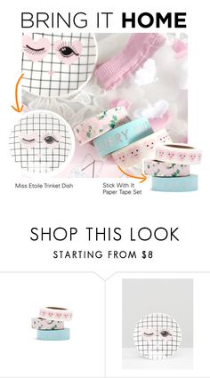 """""""Bring It Home: All Heart Everything"""" by polyvore-editorial ❤ liked on Polyvore featuring interior, interiors, interior design, home, home decor, interior decorating, ASOS, Miss Etoile and bringithome"""