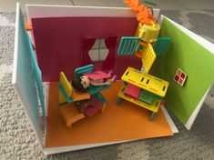 Enrique designed this room with his Roominate kit. Nerf, Make It Yourself, Kit, Toys, Happy, How To Make, Design, Activity Toys, Design Comics