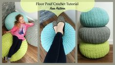 I absolutely love these popular floor poufs!!  I've even been tempted to buy one!  Of course I knew I could make my own and pick the colours I wanted for my space.  If you follow me on instagram you'll know that I've been working on a little mom cave of my own!  A place just...