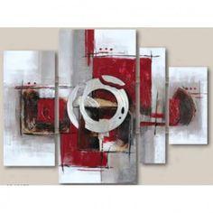 1000 images about tableaux peinture on pinterest toile rouge and design. Black Bedroom Furniture Sets. Home Design Ideas