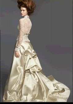 In pictures: Exquisite wedding gowns: Reem Acra collection