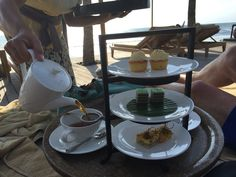Afternoon tea at The Legian.