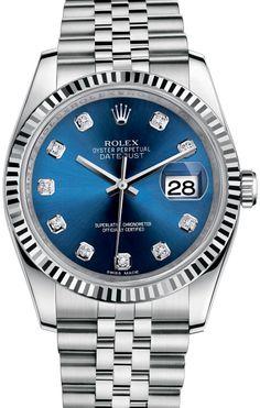 Rolex 116234 bldj Datejust Steel. #rolex
