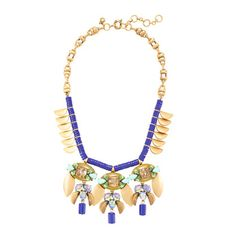 J.Crew - Crystal mobile necklace