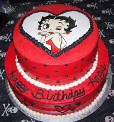 Betty Boop Cake:)