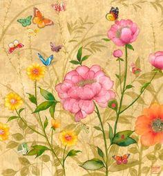 Chris Chun #floral #botanical #art