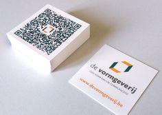 QR-code cards De Vormgeverij