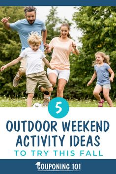 There are still a few more weeks of nice weather left for you and your family to enjoy some last minute outdoor activities. Try these ideas to keep you active and together. Weekend Activities, Family Activities, Outdoor Activities, Couponing 101, Debt Repayment, Best Savings, Budgeting Tips, Cool Diy Projects, Saving Money