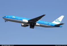 KLM Royal Dutch Airlines Boeing 777-206/ER (registered PH-BQO; photo by NRT Spotter)