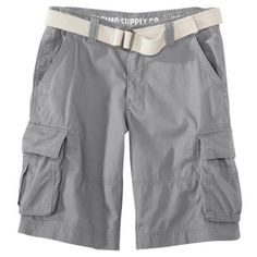 Ryan: Mossimo Supply Co. Belted Cargo Shorts