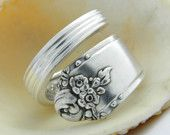 Spoon Ring - Antique Silverware Jewelry