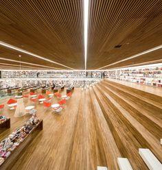 Livraria Cultura, São Paulo, Brasil - Studio MK27 – Marcio Kogan, Diana Radomysler, Luciana Antunes, Marcio Tanaka, Mariana Ruzante