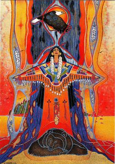 Hopi {Artwork by Ellen Uytewaal}