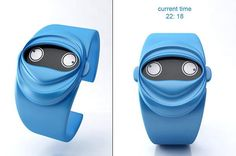 + Design de produto :     Conheça o relógio Ninja, criação de Andy Kurovets.