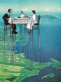 Surreal Collages by Eugenia Loli  http://www.thisiscolossal.com/2014/10/surreal-collages-by-eugenia-loli/