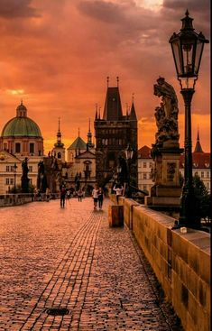 Magical Prague at dusk, Czech Republic. Places To Travel, Places To See, Pont Charles, Travel Around The World, Around The Worlds, Prague Travel, Prague Czech Republic, Prague Castle, Travel Photography