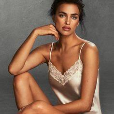 #NEW #IrinaShayk #intimissimi #sublimesilk #dressitout #italianlingerie #silk