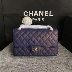 Chanel woman cf classic flap bag medium original leather version