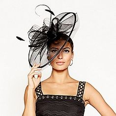 Star by Julien Macdonald Black Statement Feather Headband Occasion Hats, Occasion Wear, Black Wedding Hats, Feather Headband, Groom Outfit, Flattering Dresses, Debenhams, Ladies Day, Mother Of The Bride