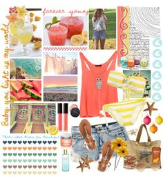 """""""Can't wait till summer ♥~"""" by nancymalik ❤ liked on Polyvore"""