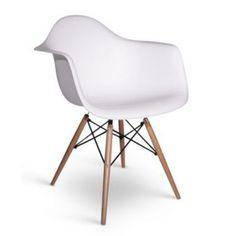Cadeira Charles Eames DAR/DAW Madeira - arte design