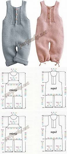 65 New Ideas For Crochet Baby Pants Pattern Kids Baby Knitting Patterns, Knitting For Kids, Baby Patterns, Free Knitting, Sewing Patterns, Crochet Baby Pants, Knitted Baby Clothes, Baby Jumpsuit, Baby Dress