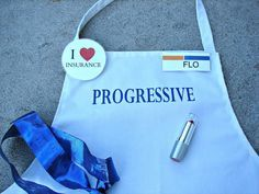 A girl and a glue gun: Flo.
