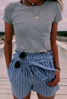 Casual outfits for Teens Summer Fashion Outfits, Cute Summer Outfits, Simple Outfits, Teen Fashion, Spring Summer Fashion, Spring Outfits, Trendy Outfits, Girl Outfits, Cute Outfits