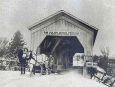 Of Vermont's three remaining covered railroad bridges, the Fisher Bridge across the Lamoille River in Wolcott is the only one still in use.