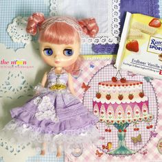 Doll clothes for Middie Blythe.