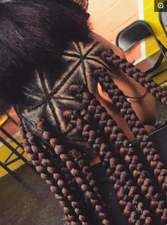 53 Box Braids Hairstyles That Rock - Hairstyles Trends Cool Braid Hairstyles, Black Girl Braids, Braided Hairstyles For Black Women, African Braids Hairstyles, Braids For Black Hair, Hairstyle Braid, Hairstyle Ideas, Cabello Afro Natural, Box Braids Pictures