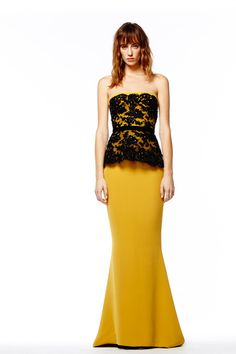Reem Acra   Pre-Fall 2014 Collection   Style.com