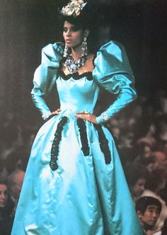 Yves Saint Laurent, Rive Gauche, Ysl, Vintage Black, 1980s, Diva, Vintage Fashion, Sketch, Glamour