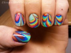 My first water marble.  http://chromacraze.blogspot.com/