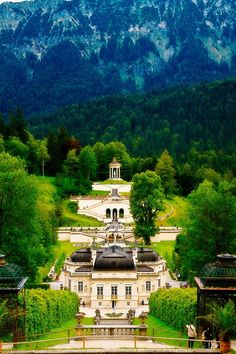 Schloss Linderhof  Linderhof 12, 82488 Ettal, Germany Architectural style: Rococo