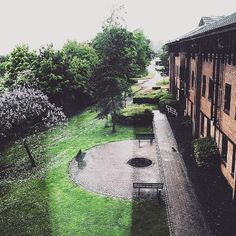 View from a Cottesbrooke window: