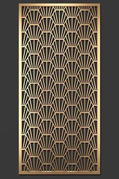 Decorative Metal Screen, Decorative Panels, Laser Cut Panels, Modern Kitchen Design, Art Object, Laser Cutting, Animal Print Rug, Art Nouveau, Objects