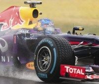 Red Bull locks up front row of the 1st race of the 2013 Formula 1 season in Australia
