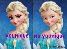 Lol Elsa serait beaucoup moions sexy si elle ne connaissait pas une conseillère Younique