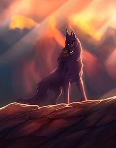 Red King by VarjoKiro on DeviantArt Creature Drawings, Animal Drawings, Wolf Comics, Lion King Drawings, Wolf Character, Wolf Sketch, Demon Wolf, Wolf Artwork, Wolf Life