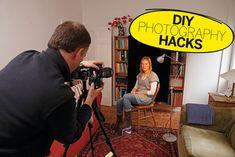 DIY Photography Hacks: simple studio lights at Ikea prices!