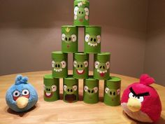 Angry Birds party game idea