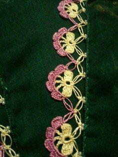 Crochet Borders, Crochet Patterns, Love Crochet, Knit Crochet, Knit Shoes, Needle Lace, Knitted Shawls, Knitting Socks, Hand Embroidery