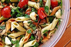 Mozzarella - Nudel Salat
