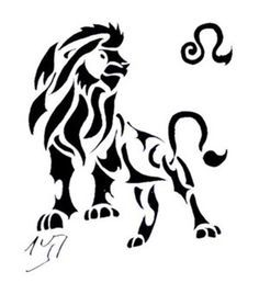 leo tattoos with stars - Google Search