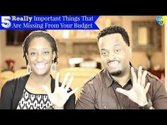 5 Really Important Things That Are Missing from Your Budget - YouTube