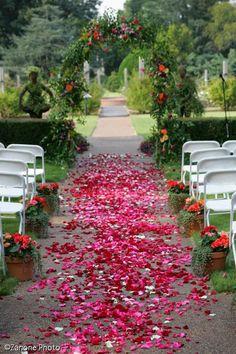 Garden Wedding at Memphis Botanic Garden