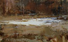 Autumn's Touch by Tibor Nagy Oil ~ 10 x 16